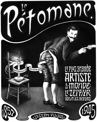 Paul Oldfield Le Pétomane Fart Flatulist Fartist professional Farter