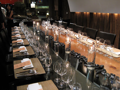 Glass Dinner Table on Six By 10 Tiny Kitchen  Foodbuzz Community Table Dinner At Bushi Tei