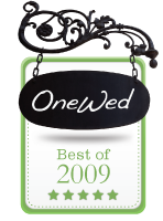 OneWed.com Best Of 2009 Vendor