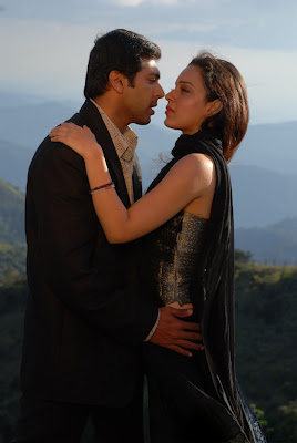 Jayam Ravi, Kangana Ranaut and Lakshmi Rai in Kollywood Movie Dhaam Dhoom - Movie stills