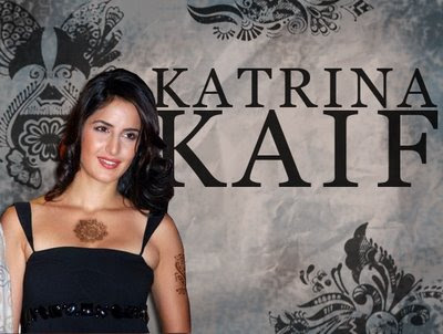 Bollywood's hottest babe Katrina kaif has got two tattoos inked on her soft skin