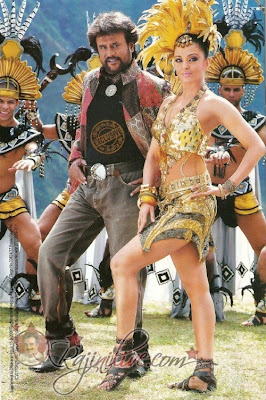 Super Star Rajnikanth and Aishwarya rai bachchan starrer Endhiran-The Robot new stills.