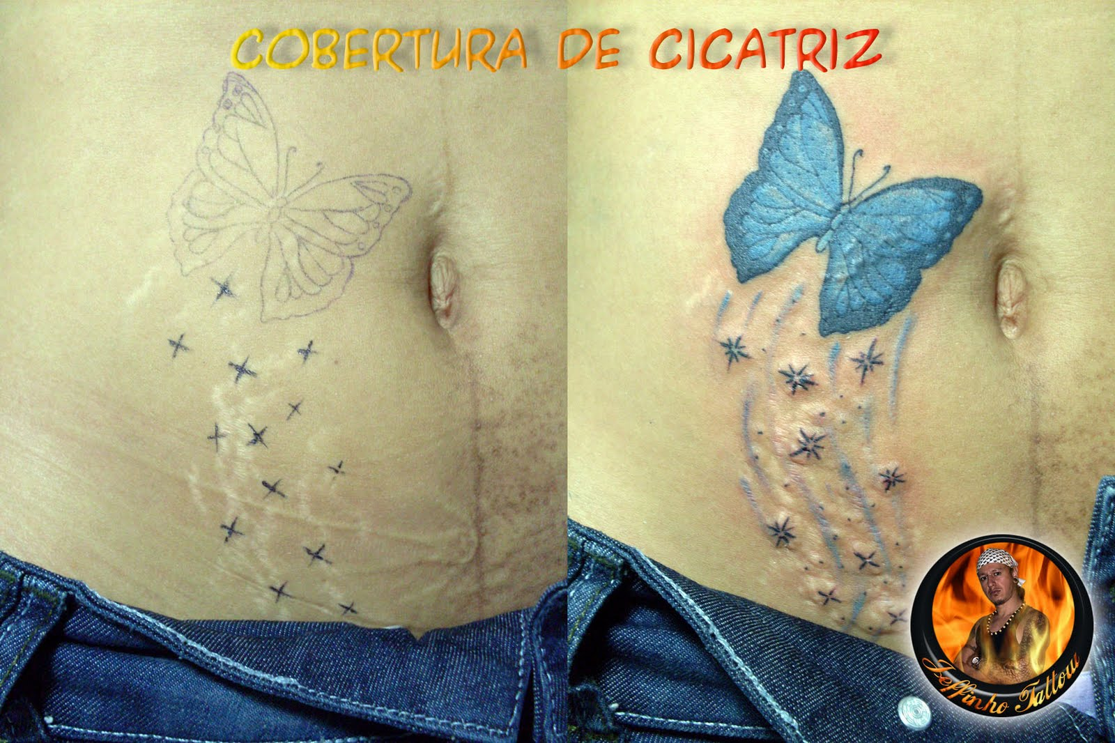 Tatuagens De Coberturas E Reformas  Cover Up Tattoo  1