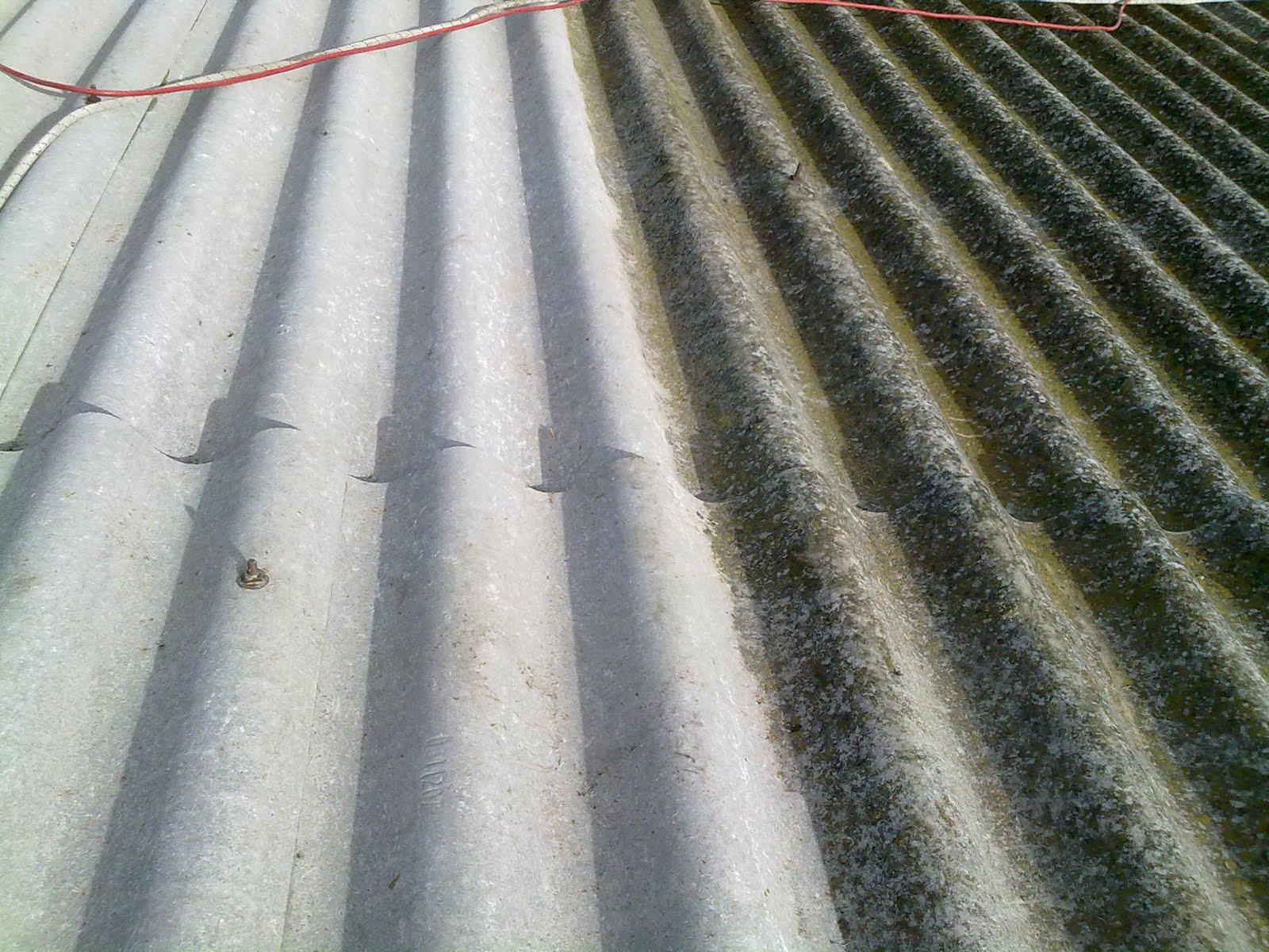 Mantenimiento tejados de uralita limpieza de uralita for Tejados prefabricados