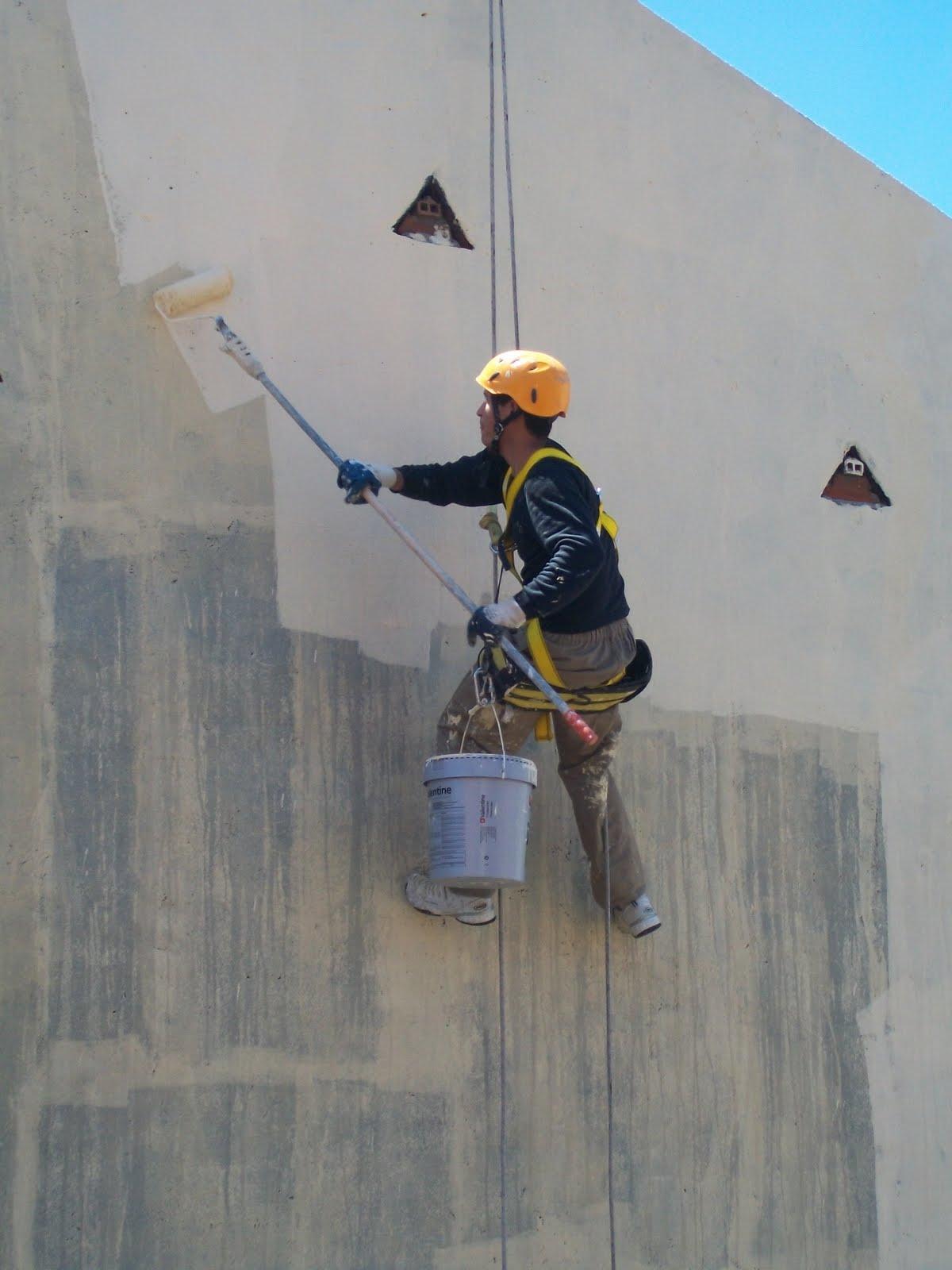 Pintar fachada patios tendederos pintar por trabajos - Como se construye una casa ...