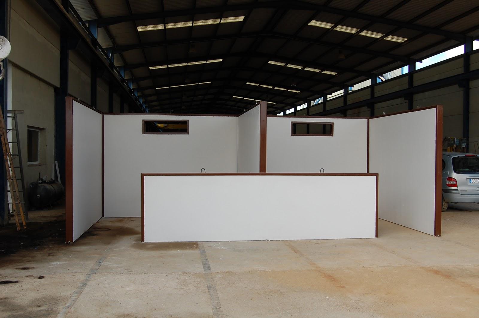 Boxes para caballos prefabricados de hormig n en sevilla for Casetas metalicas baratas
