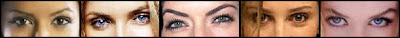 Eva Longoria; Cameron Diaz; Lara Flynn Boyle; Calista Flockhart e Nicole Kidman