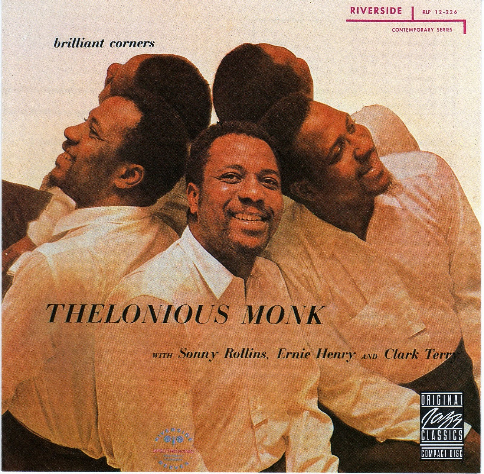 thelonious monk - brilliant corners (sleeve art)
