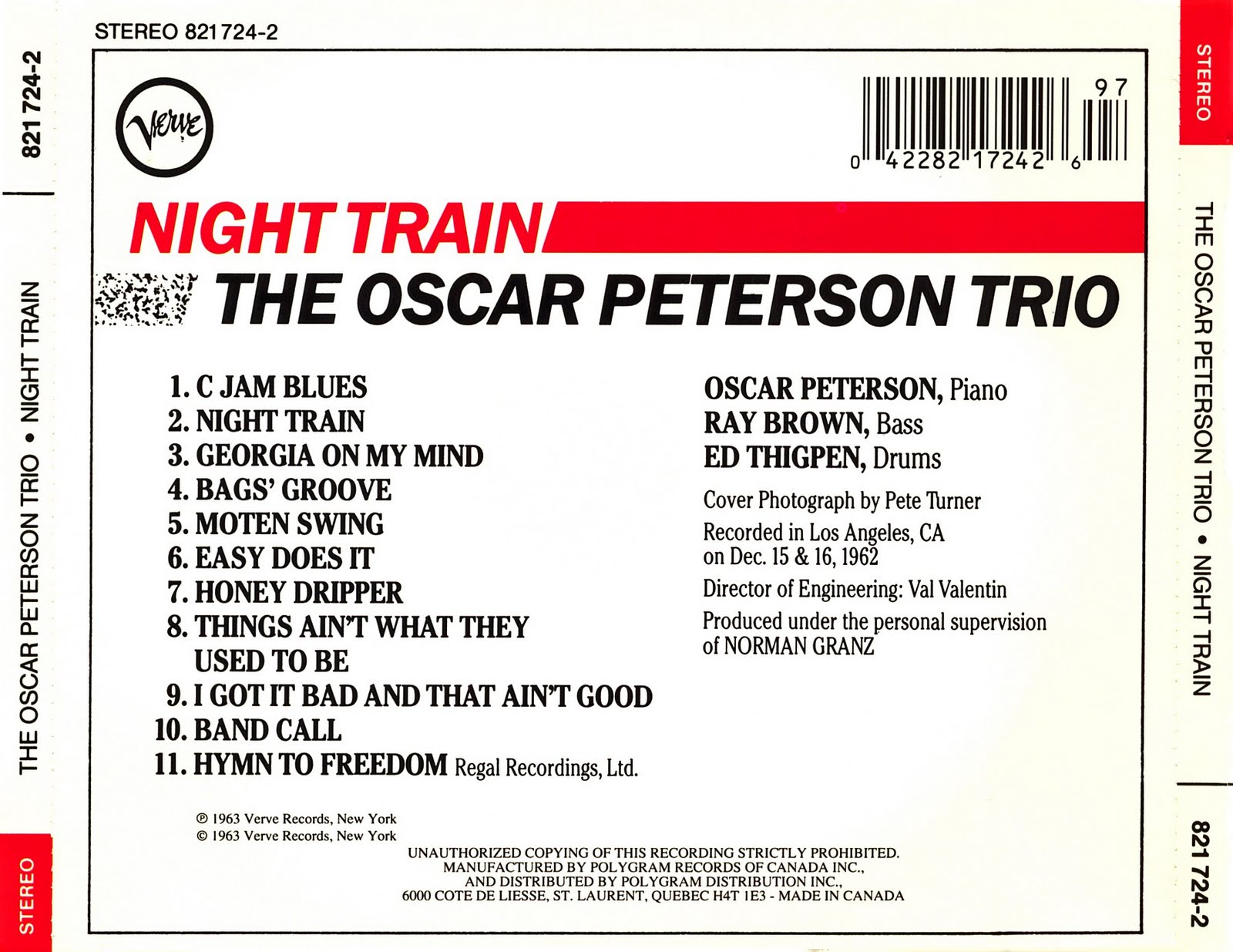 Product moreover C Jam Blues Oscar Peterson as well The Oscar Peterson Trio Night Train also Watch besides 9380525. on oscar peterson c jam blues