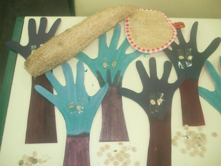 Bucha vegetal, sementes e árvores na Atividade do Dia da Árvore - 21-09-2010