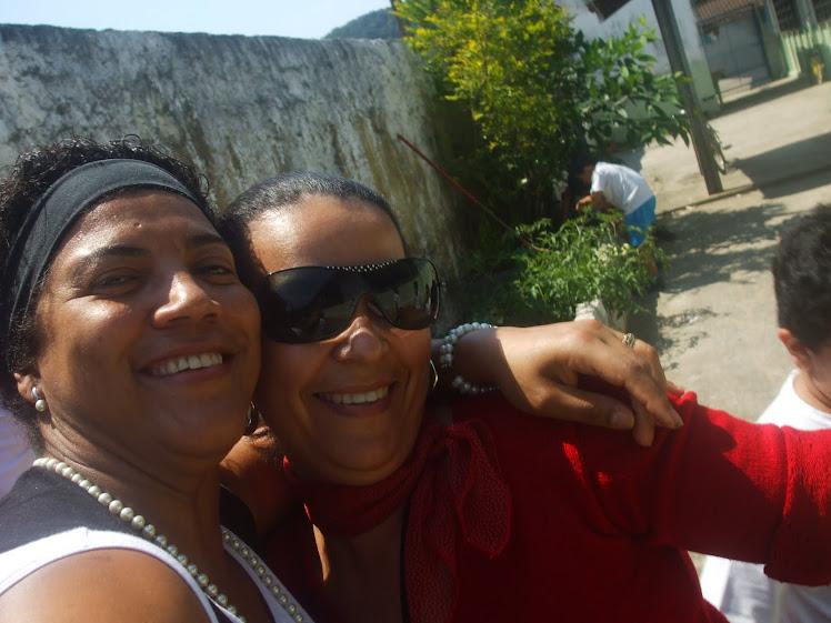 Sorriso contagiante da Coordenadora Pedagógica Gilceleide Rodrigues