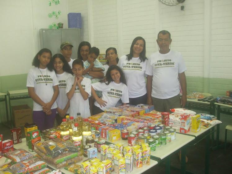 V Feira Ambiental do Projeto Viva-Verde na EM Herbert Henry Dow - 17-12-2010