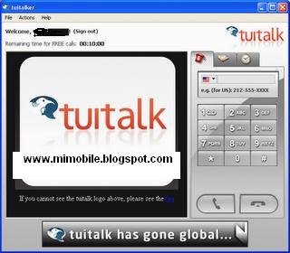 Free Mobile Phone Calls - Tuitalk