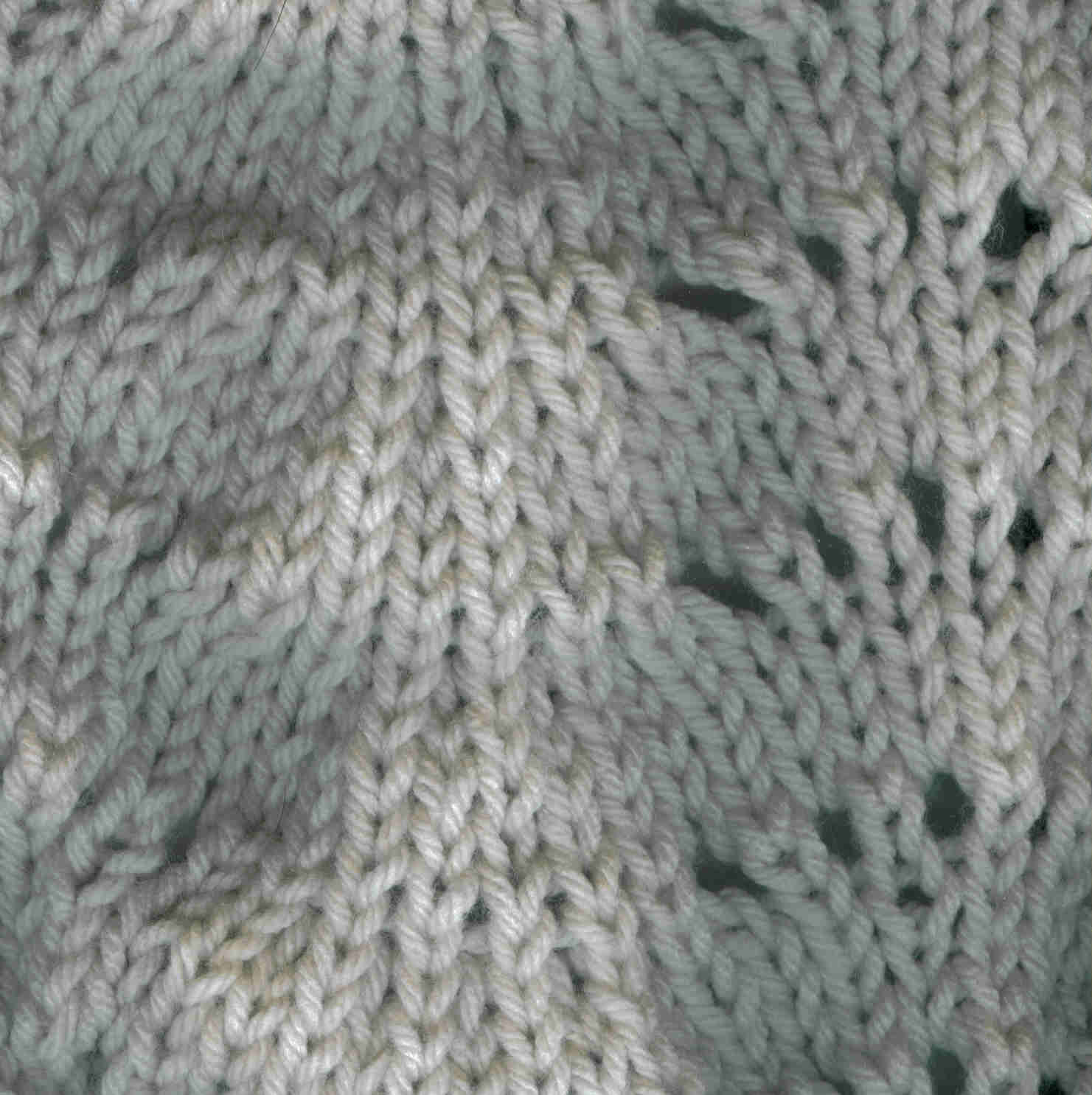 Seashell Knitting Pattern : jbarrett5: glossary and sample pictures of knit stitches