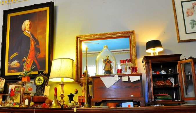 Lord George Anson Antiques