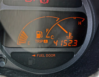 4.152,3 km por el cuentakilómetros de la máquina