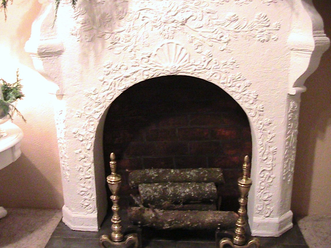 katty u0027s cosy cove making a faux fireplace