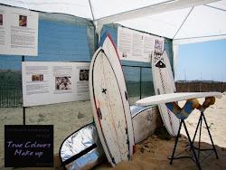Exposição da Historia do Surf e Cultura Tattoo