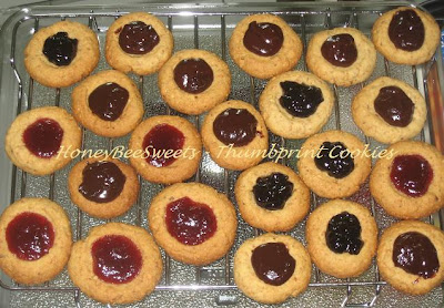 ... posted this delicious recipe honey roasted peanut thumbprint cookies