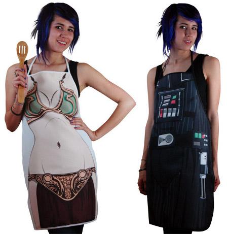 prinses Leia keukenschort