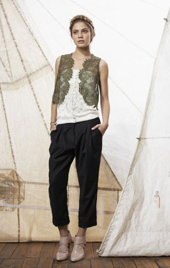 [Lace+vest+Fleur+wood]