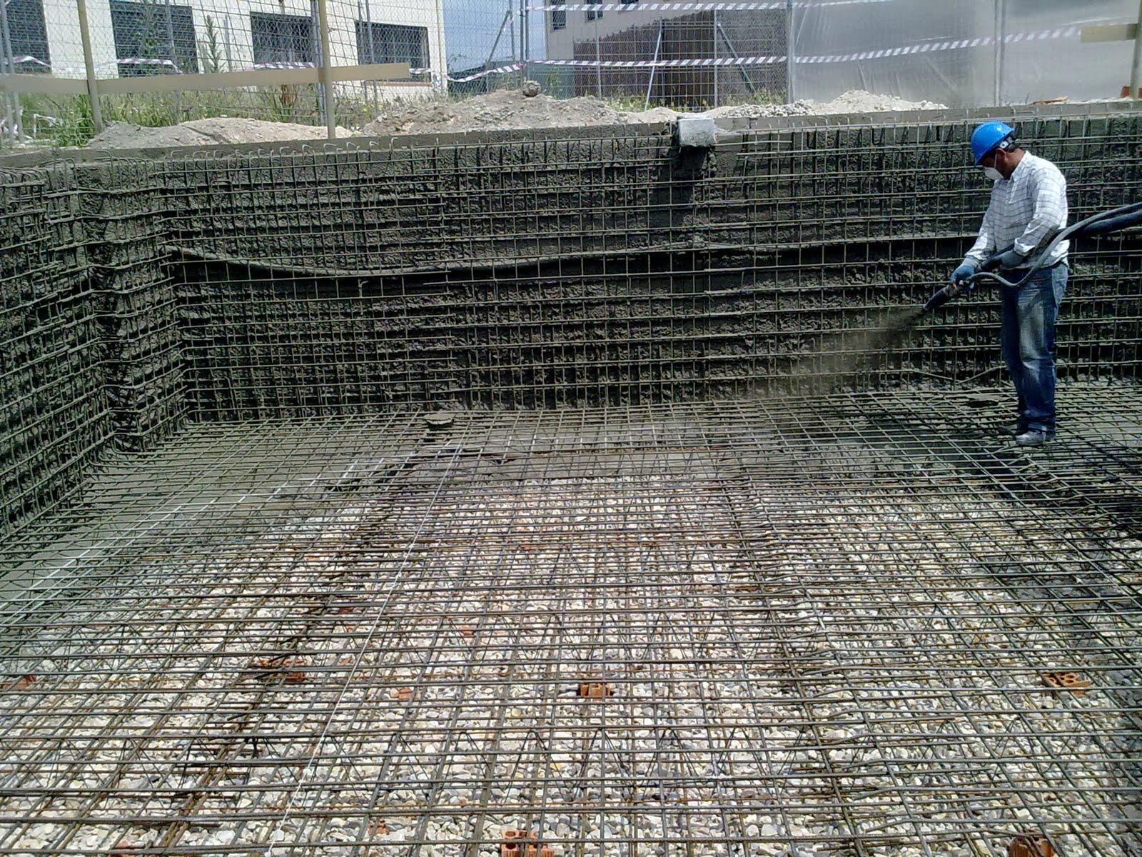 Sanden construcciones y reformas for Hormigon gunitado piscinas