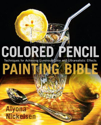 Making a Mark Reviews: Book Review: Colored Pencil Painting Bible