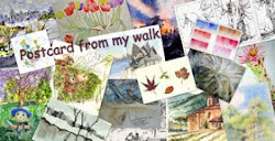 About &#39;A Postcard From My Walk&#39;