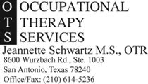 Jeannette Schwartz, MS, OTR