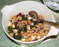 Chickpeas and Feta