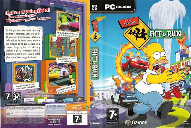 descargar the simpsons hit and run pc