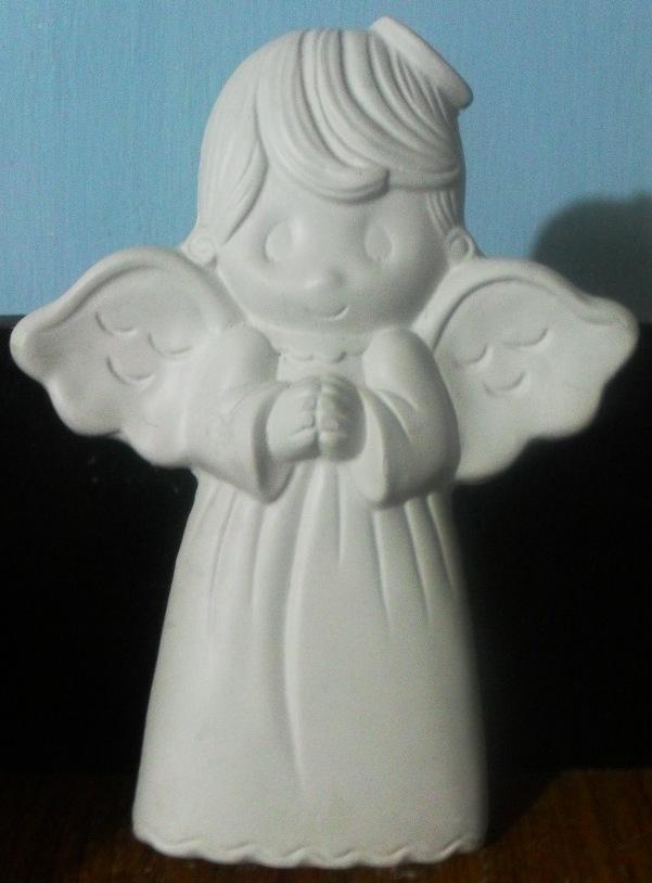 Figuras de yeso angelito 030 - Angelitos de yeso ...