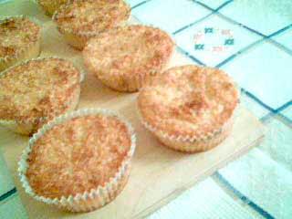 Glutenfria Kokosmuffins