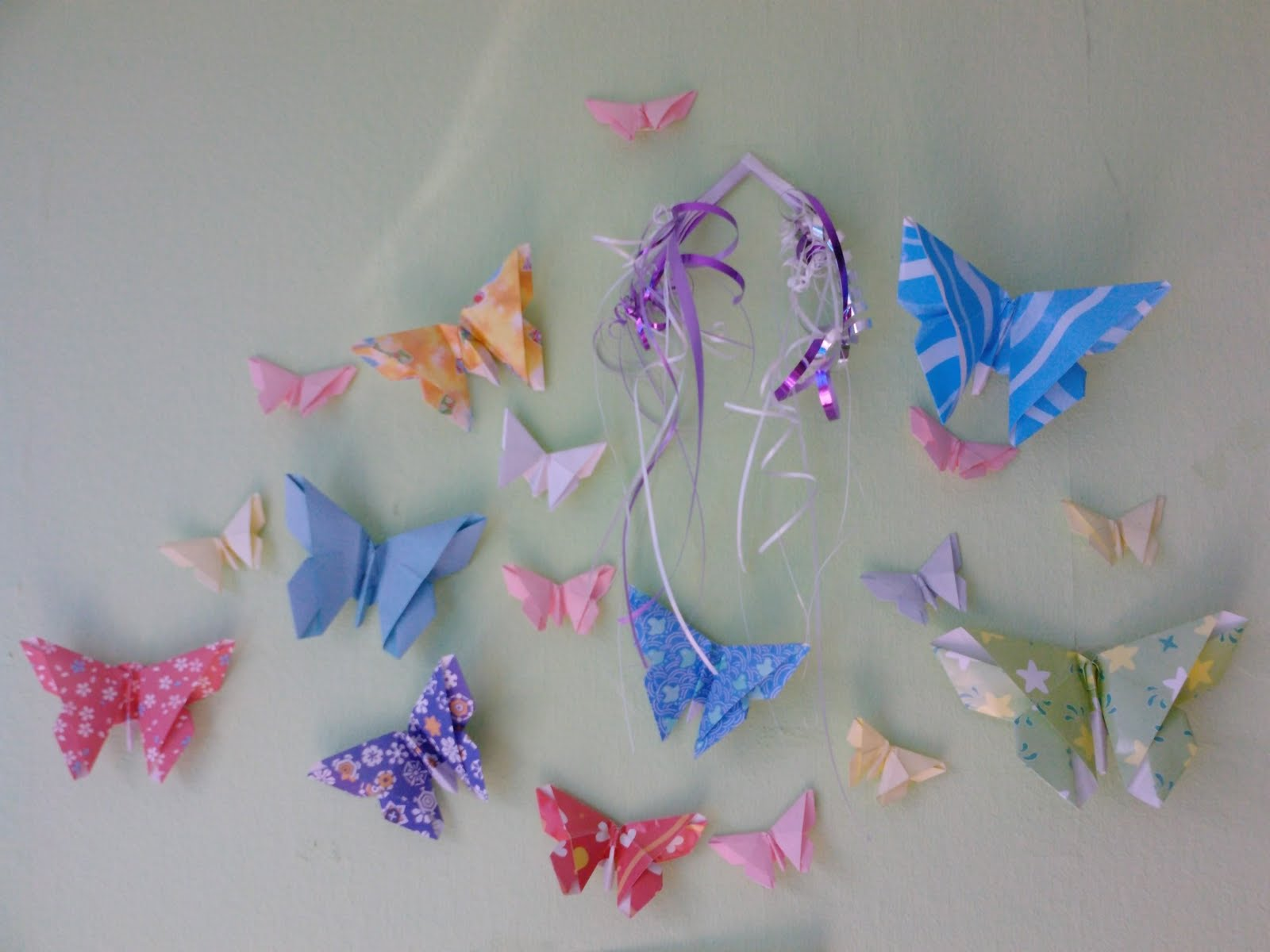 Peacefully Folding Blog: Origami butterfly - photo#44