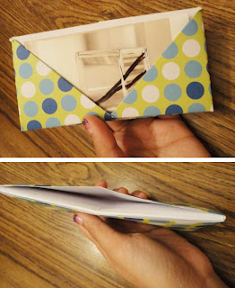 origami business card holder – tutorial