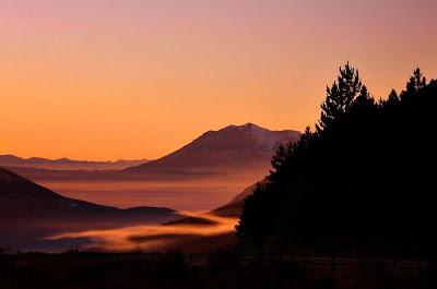 river of fog by Azem Ramadani