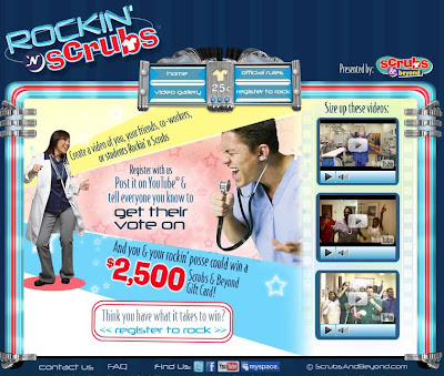 Www.rockin-n-scrubs.com - Rockin 'N Scrubs Video Contest