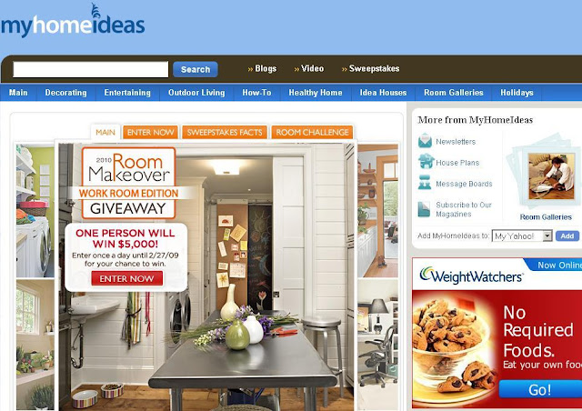 2010 Home Makeover Sweepstakes, Myhomeideas.com