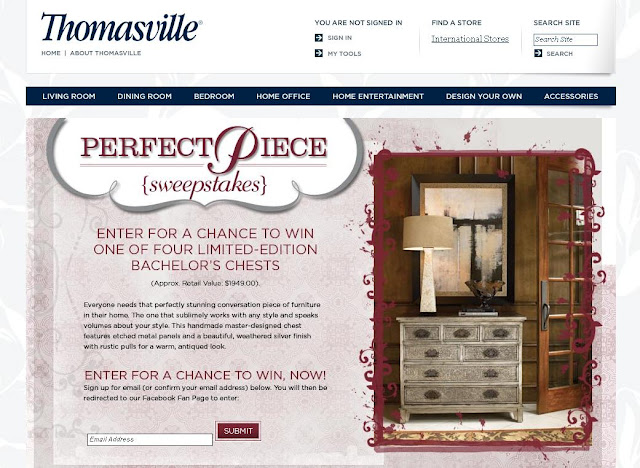 Thomasville.com/PerfectPiece - Thomasville Perfect Piece
