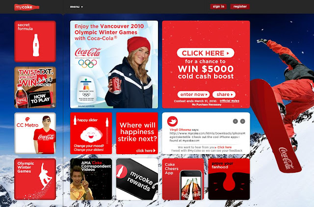 MyCoke Winter Sweepstakes, Www.MyCoke.com