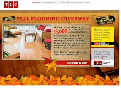 TLC Discovery Lumber Liquidators Fall Flooring Giveaway, Tlc.discovery.com