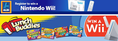 Lunchbuddies.us - ALDI Nintendo Wii Sweepstakes