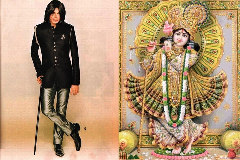 Michael Jackson and Krishna