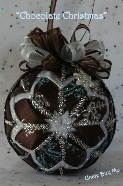 ~ The Feathered Nest ~: Rag Ball Ornament Tutorial ~