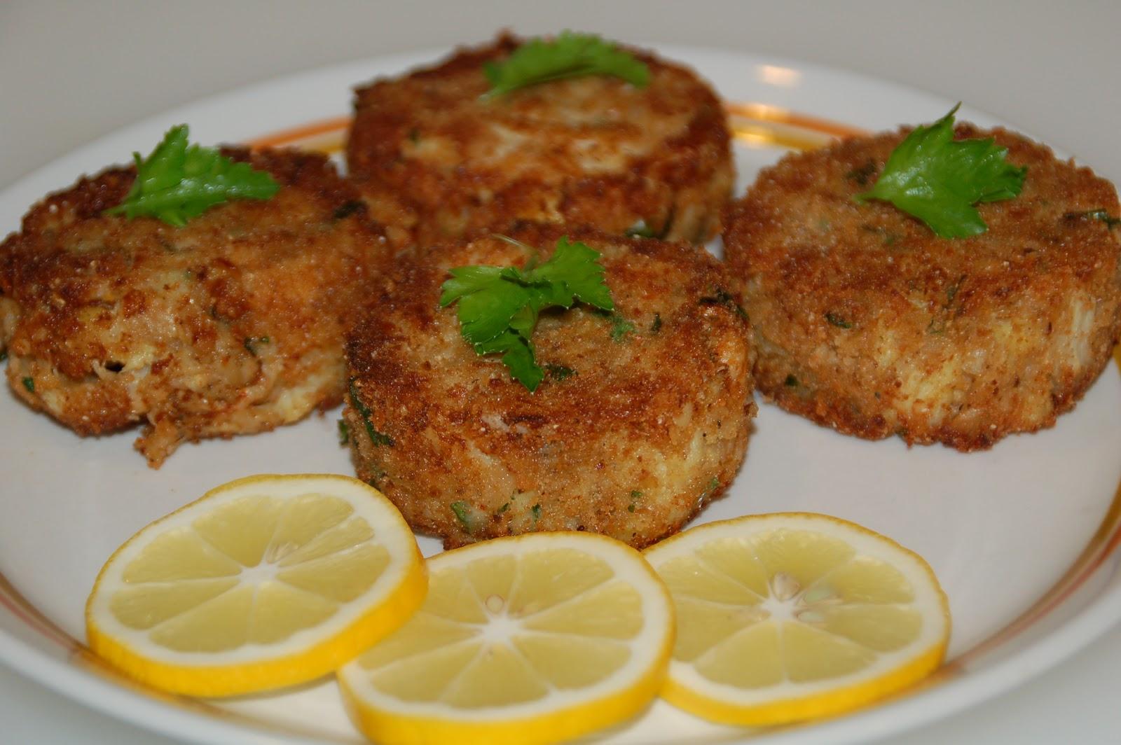 Dungeness Crab Cakes Panko