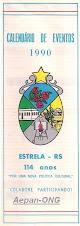 Estrela-RS - Calendário de Eventos 1990