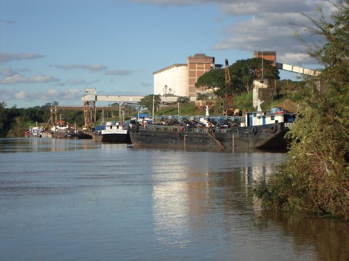 Rio Taquari - Porto de Estrela
