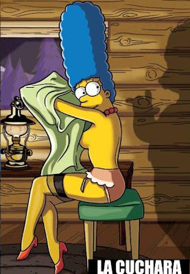 Marge Simpson En Play Boy