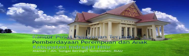 Gedung Kantor P2TP2A Kabupaten Indragiri Hilir