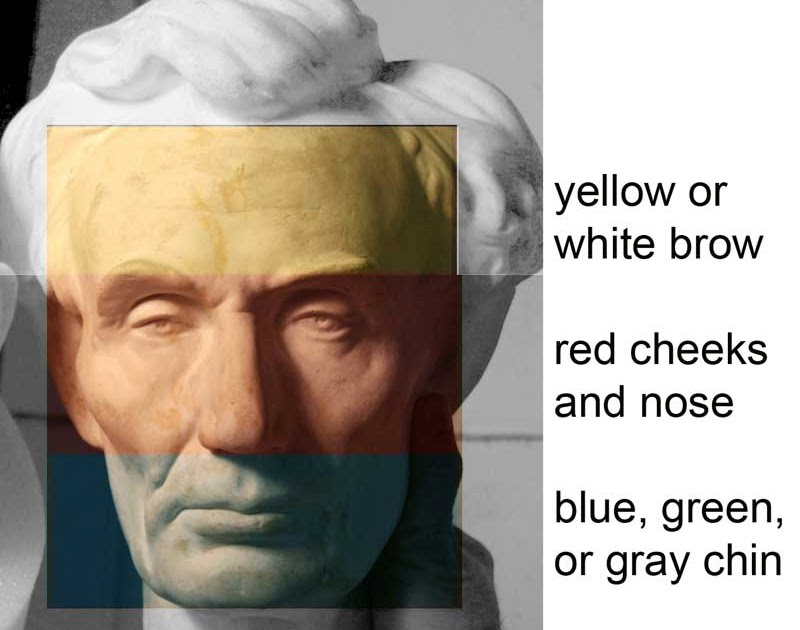 Gurney Journey Color Zones Of The Face